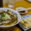 中華そば『らー麺さかた』のチャーシューメン、塩ラーメン