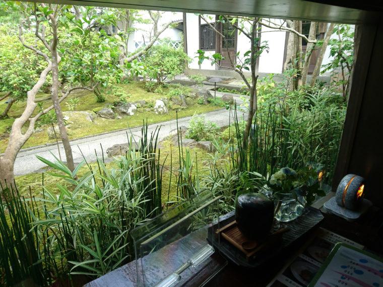 古遊楽窓からの眺め