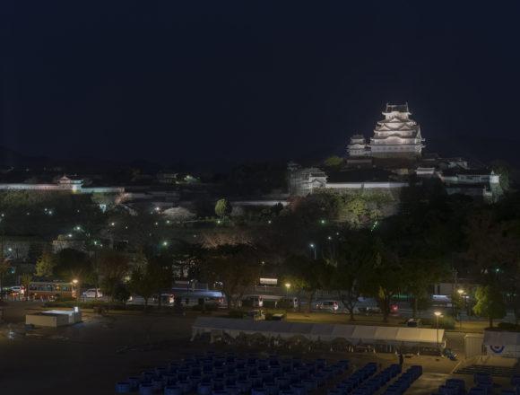 姫路城ライトアップ