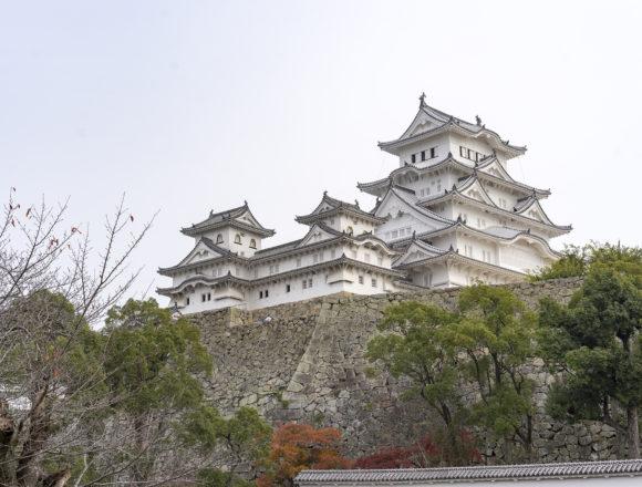 姫路城斜め
