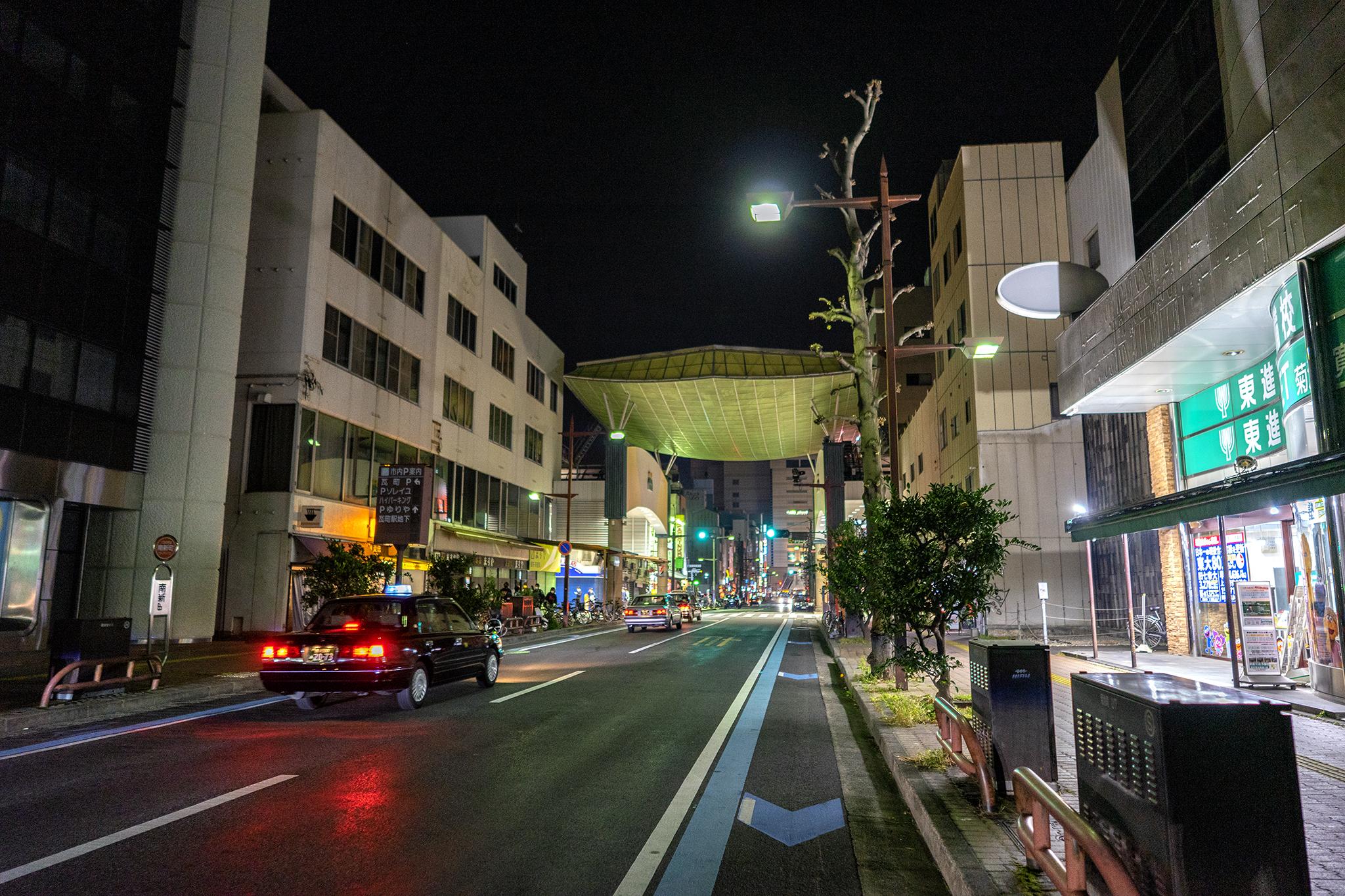単焦点25mmレンズ1本で撮る高松夜景スナップ【ZEISS Batis 2/25】