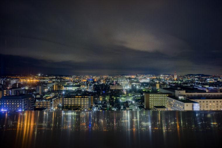 京都駅ビルからの夜景2