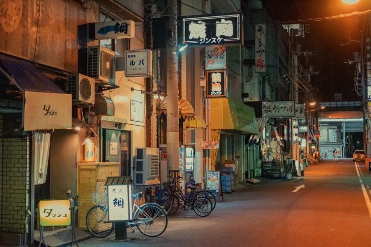 夜のトキワ新町2