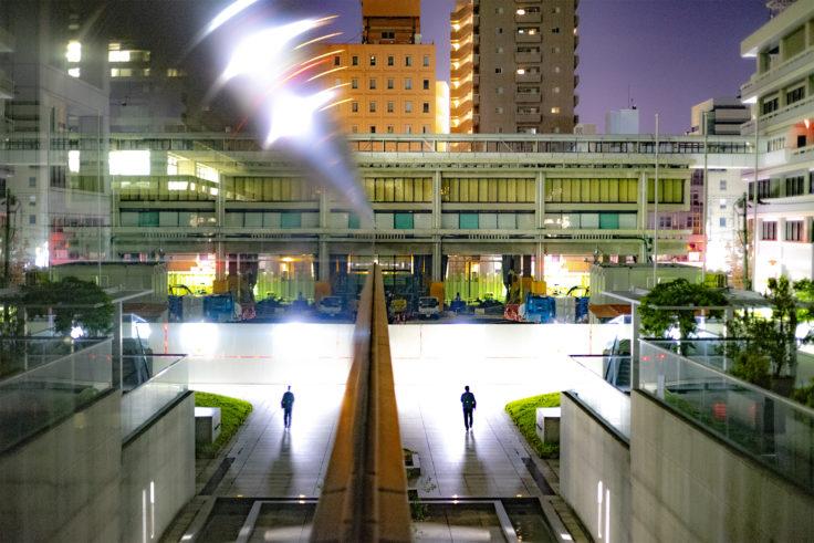 香川県庁のリフレクション