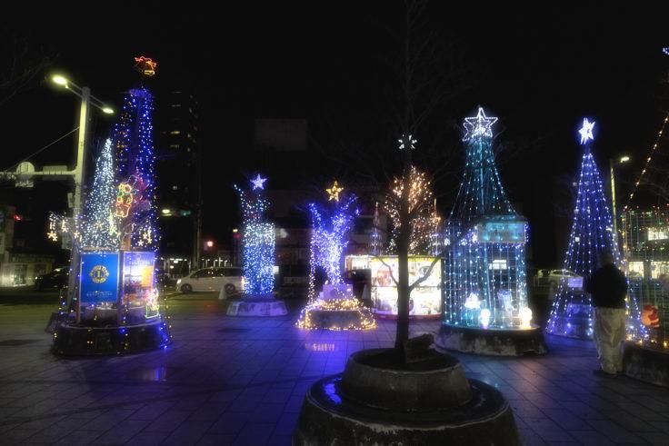 坂出ハナミズキ広場のイルミネーション