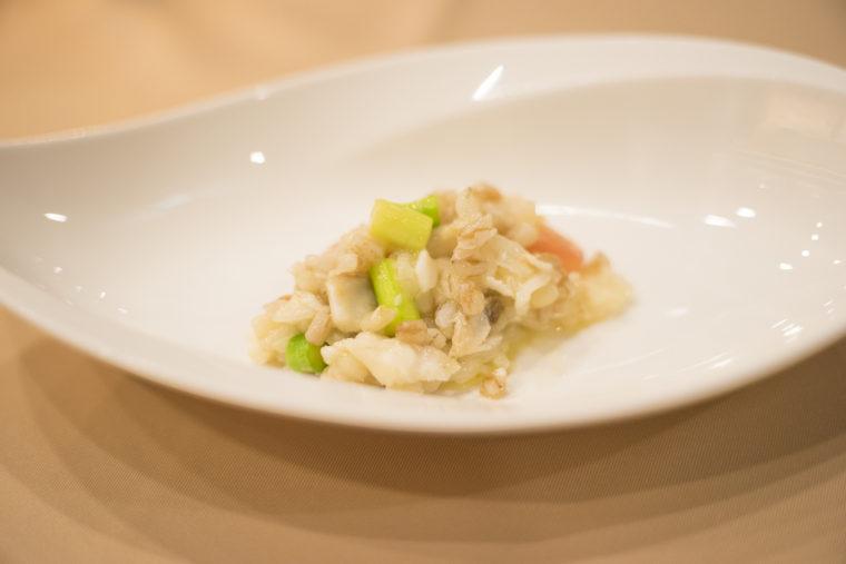 真鯛と季節野菜のリゾット