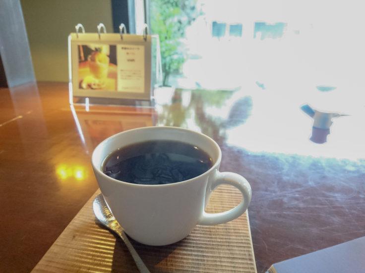 カフェ・アジールのブレンドコーヒー