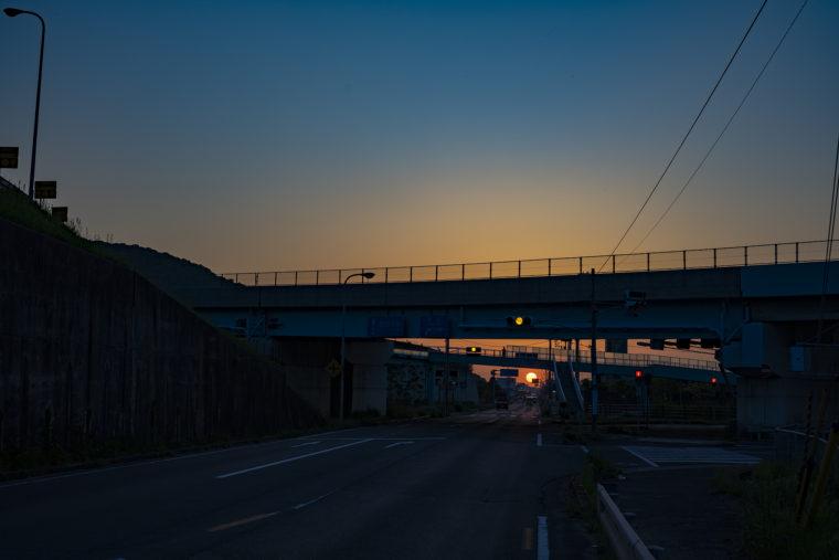坂出市の夕焼け