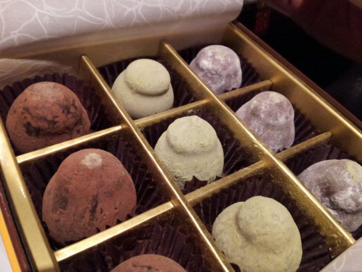 Teuscherのチョコレート