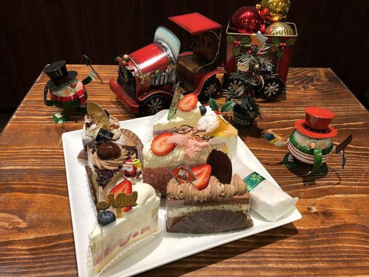 サンファソンのクリスマスお試しイベントケーキ