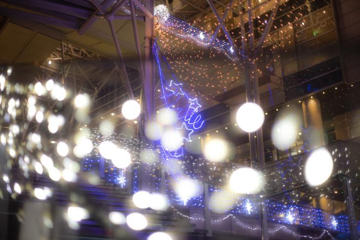 サンポート高松の電飾