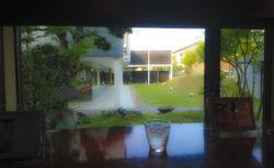 カフェ・アジールの庭