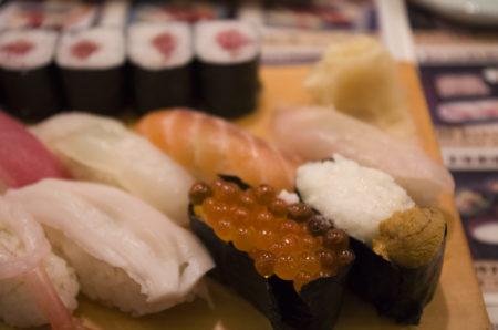 魚御殿さわだの寿司ランチ