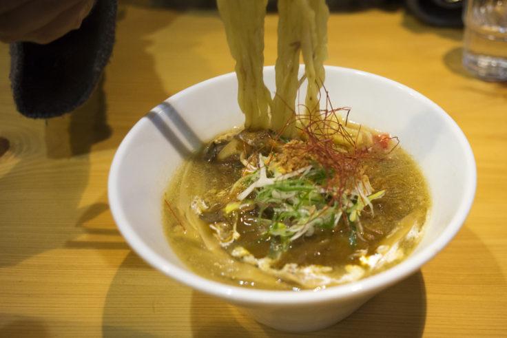 麺喰屋「澤」のカレーラーメン