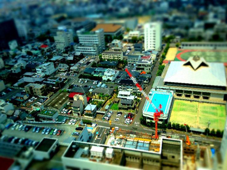 香川県庁展望台北側