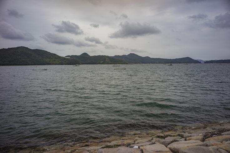 鳴門ウチノ海総合公園から見たウチノ海
