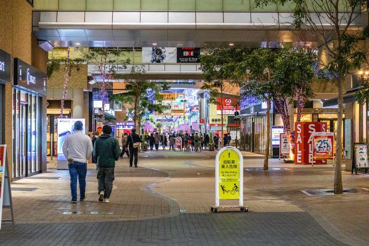 高松市の商店街