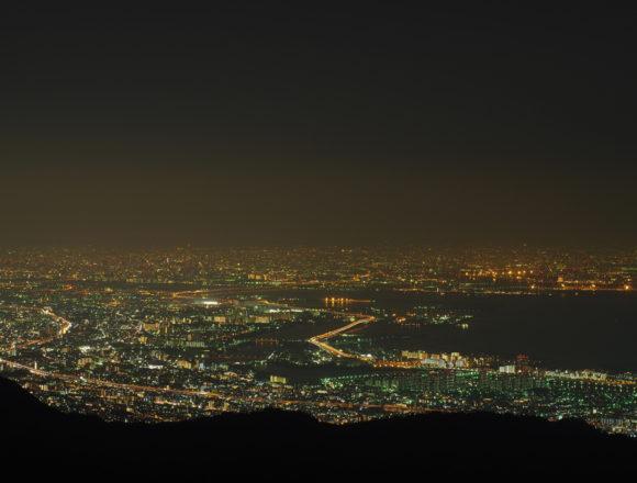 六甲山ガーデンテラスからの夜景