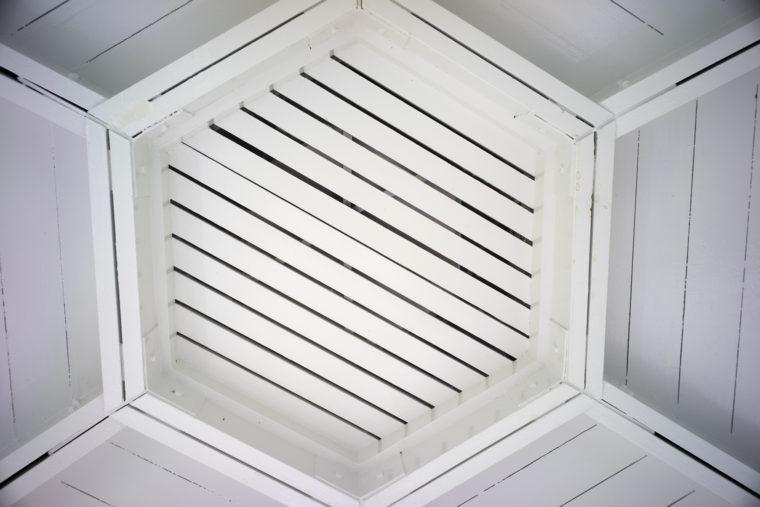 ガゼボ天井