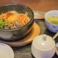 高松市にある韓国家庭料理サランで石焼ビビンバ