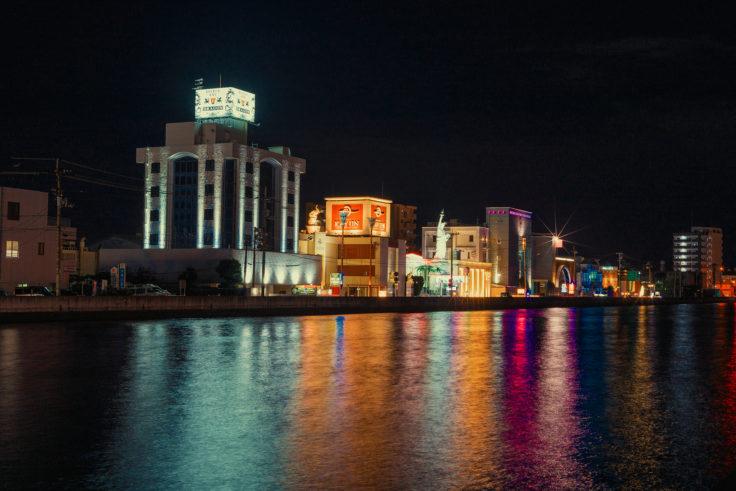 詰田川ラブホテル街