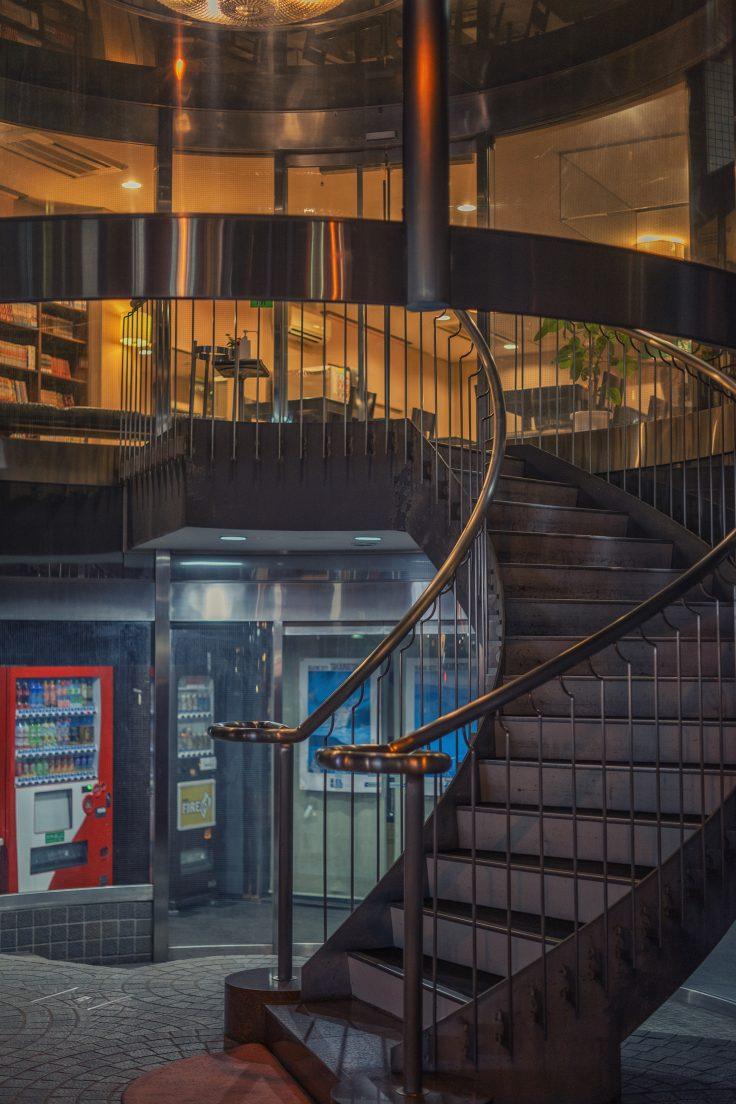 高松夜景スナップ階段