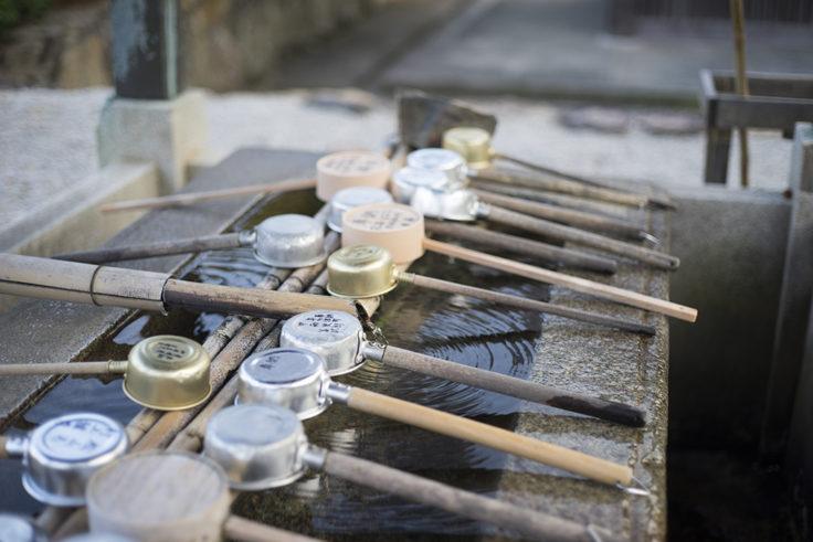 屋島寺の手水