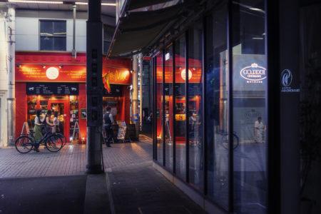 夜の商店街スナップ