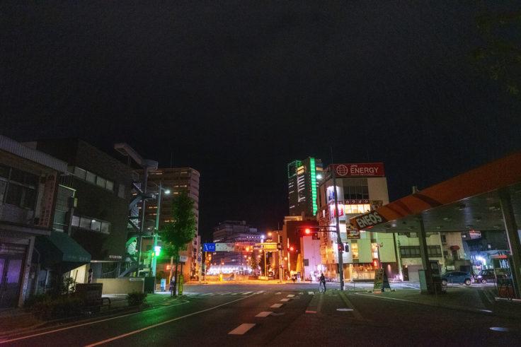 夜の高松シンボルタワー