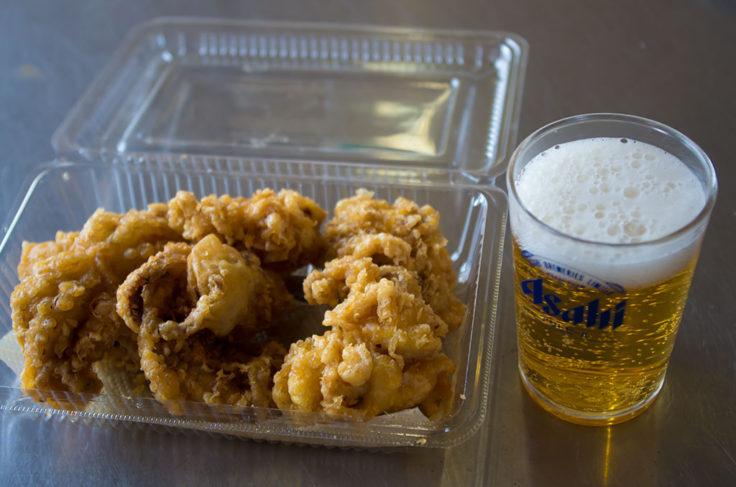 飯蛸の天ぷら