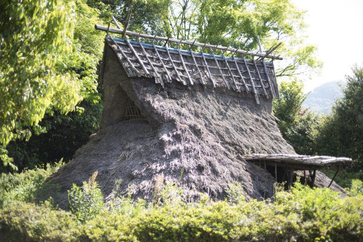 大井七つ塚古墳群の竪穴式住居