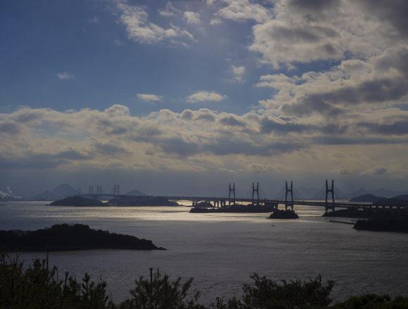 鷲羽山レストハウスからの瀬戸内海