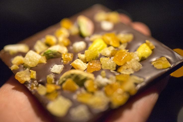 chocolatechatのオレンジ&ピスタチオ