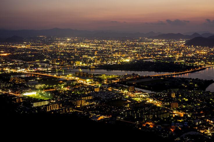 屋島夜景1