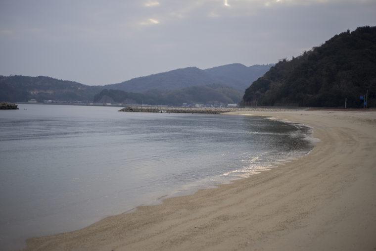 志度町興津海水浴場