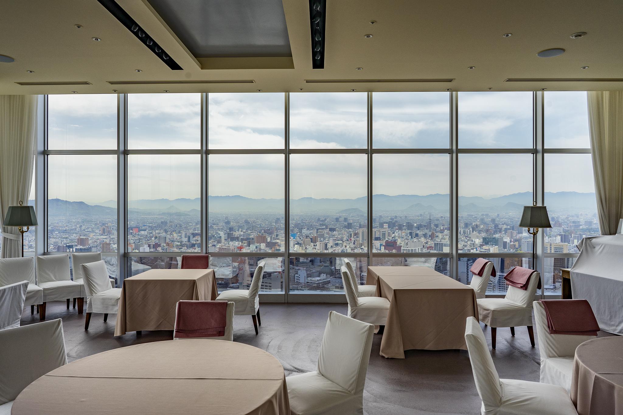 高松シンボルタワー最上階30階からの絶景