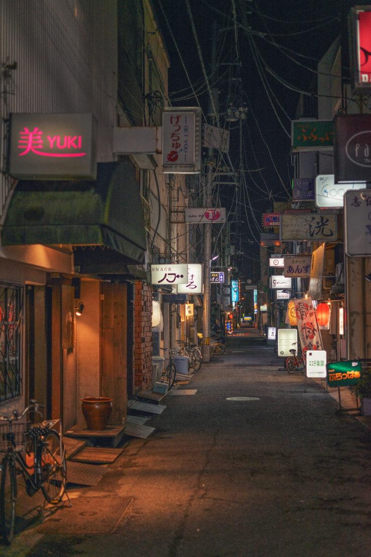 夜のストリートスナップ