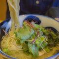麺喰屋 澤の担々麺、冷潮煮干しそば
