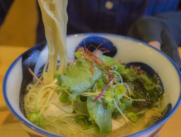 麺喰屋澤の冷潮煮干しそば細麺