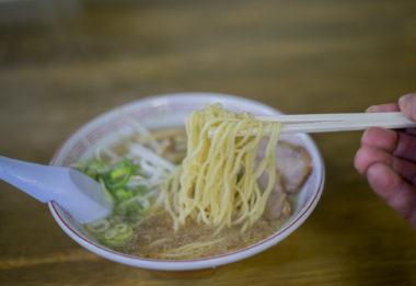 大政の中華そばの麺