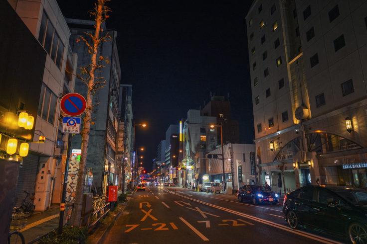 夜のフェリー通り4