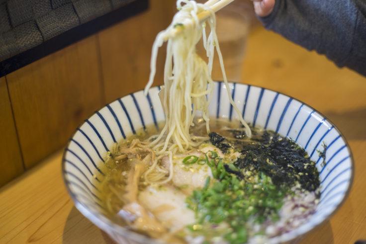 麺喰屋澤の山椒ラーメン