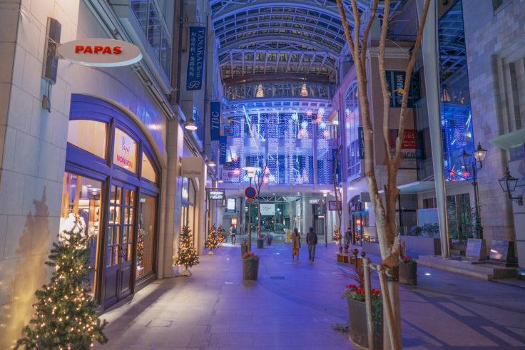 高松中央商店街のイルミネーション
