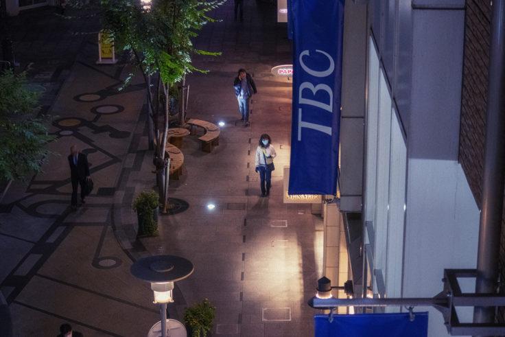 高松中央商店街俯瞰撮影