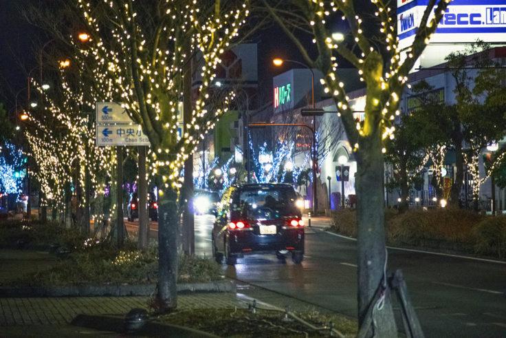 高松レインボー通りのイルミネーション2020