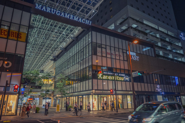 丸亀町商店街入口