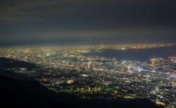 摩耶掬星台からの夜景