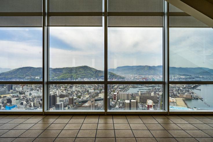 高松シンボルタワー29階からの眺め2