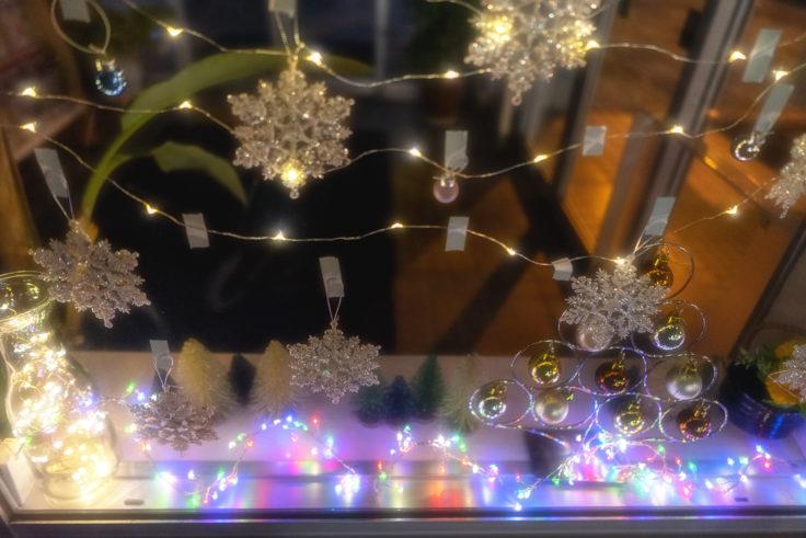クリスマスディスプレー