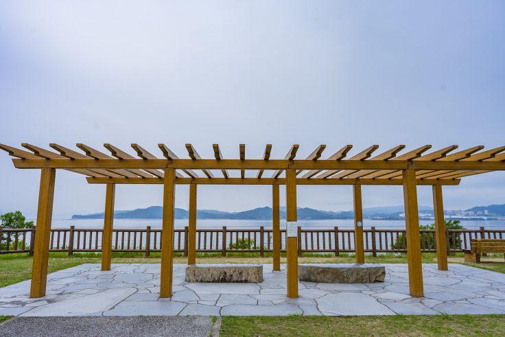 房前公園から見た瀬戸内海
